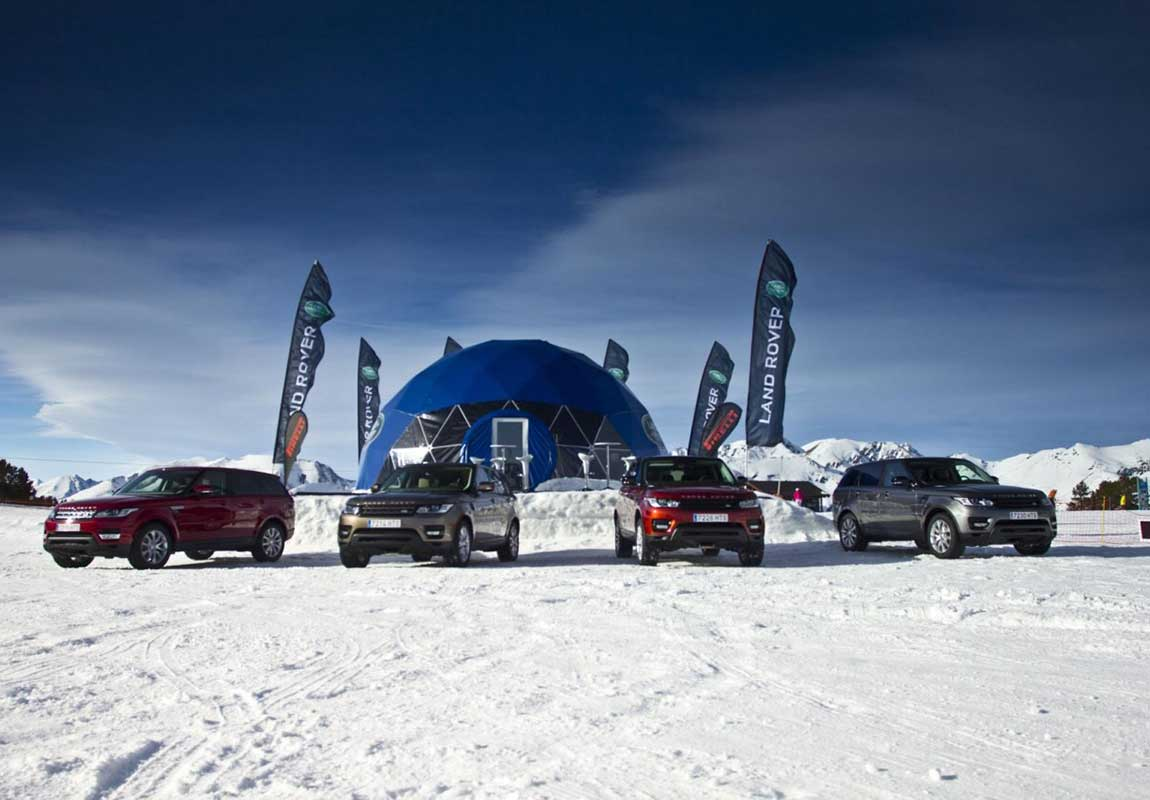 Stand Land Rover Andorra Dionisiobonet