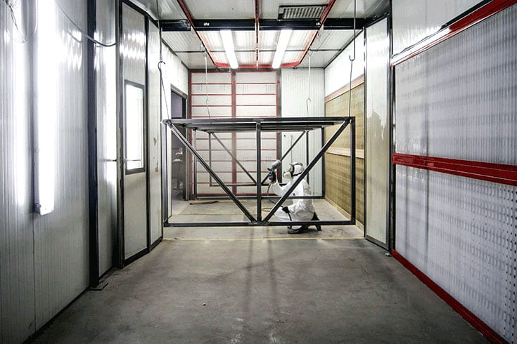 cabina presurizada pintura liquida 4
