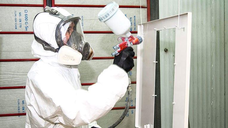 Pintores industriales con ISO 9001:2015